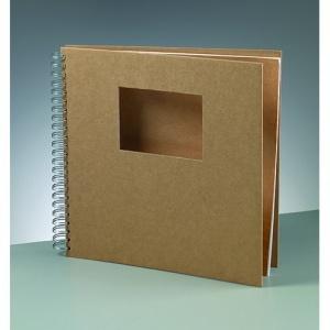 album-for-scrapbooking-30-x-30-cm9-x-brun-25-sidor-cutout-rektangel