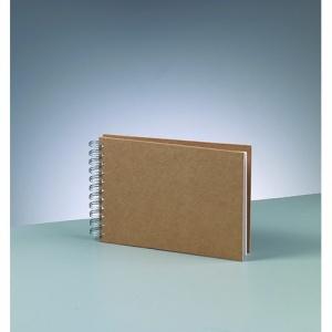 album-for-scrapbooking-a-521-x-15-cm-brun-25-sidor-m-spiral-trad