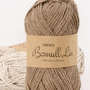 drops-bomull-lin-garn-50g