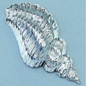 Smycke 15 x 32 mm - silverfärgad 1 st. skal