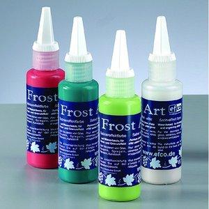 Glasfärg - Frost Art satinfärg - 50 ml (flera olika färgval)