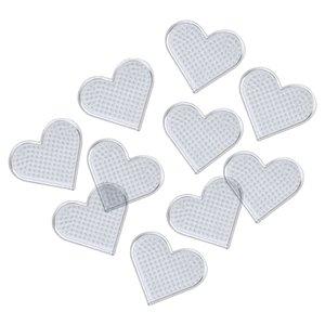 Plattor 10-pack små hjärtan