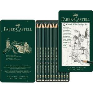 Blyertset Faber-Castell 9000 Design