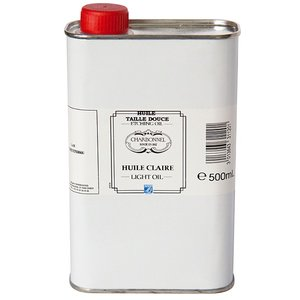 Light Oil Etsning Charbonnel Ink. Medium - 500 ml