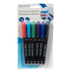 Markerpack Permanent - Flera färger