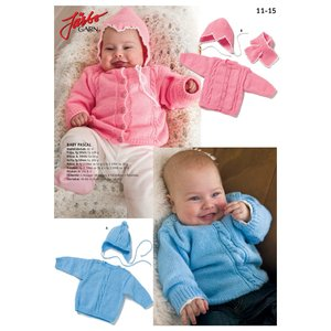 Stickmönster - 2 klassiska babyset