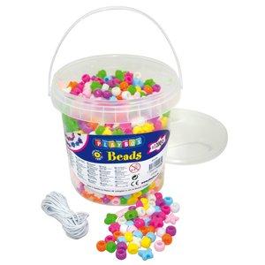 Plastpärlor 1200 st