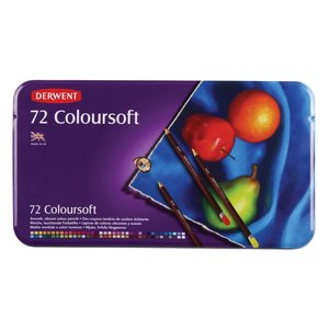 Derwent Colorsoft - 72 Pennor