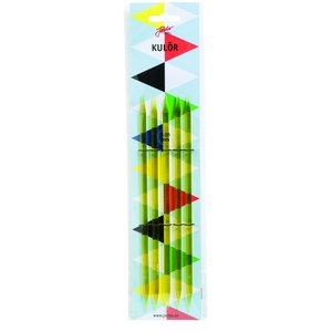 Strumpstickor Kulör - 20cm (4-12 mm flera valmöjligheter)