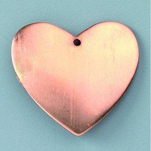 Hängsmycke 30 x 29 mm - hjärta