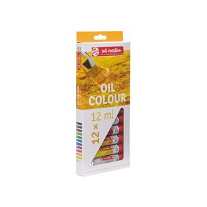 Oljefärger Art Creation Färgset 12 ml - 12 färger