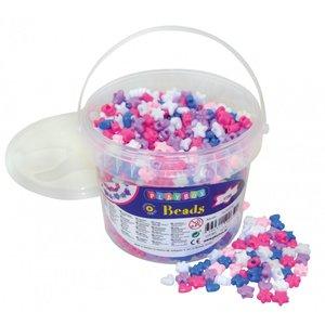 Plastpärlor stora hål