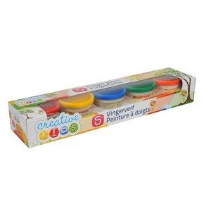 Fingerfärg - 5 färger