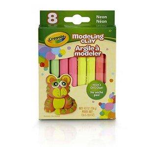 Modellera Crayola Neon - 8 delar