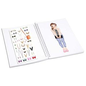 Stickersbok TOPModel - Dress Me Up