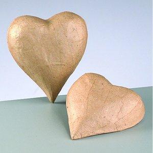 3D element - Hjärta - halvt