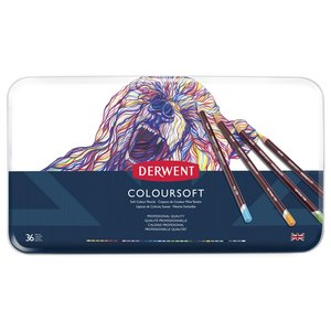 Derwent Colorsoft - 36 Pennor