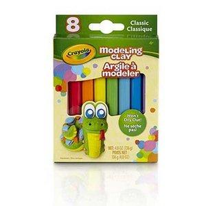 Modellera Crayola Standard - 8 delar