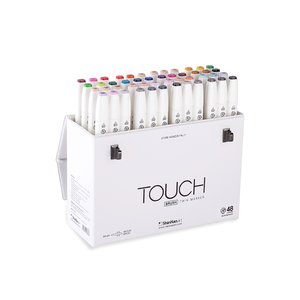 Touch Twin Brush Marker - 48 Pennor