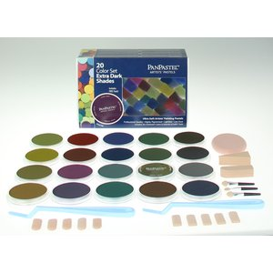 PanPastel - 20 Color Sets Extra Dark Shades