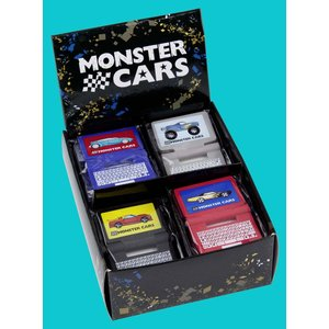 Suddgummi - Monster Cars