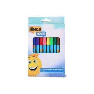 Färgmarkers 10-pack - Emoji Movie
