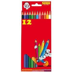 Färgpennor Sense - 12 pennor