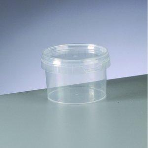 Tom behållare ø 95 mm h 65 mm - 20-pack - transparent 280 ml