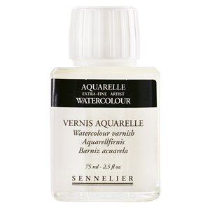Akvarellmedium Sennelier Watercolour varnish - 75ml