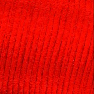 Vävtråd satin - röd