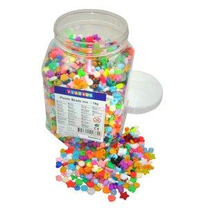Plastpärlmix 3350 st