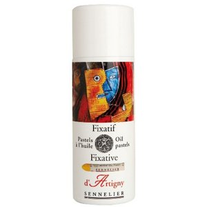 Fixativ Oil Pastel Sennelier 400ml Sprayflaska