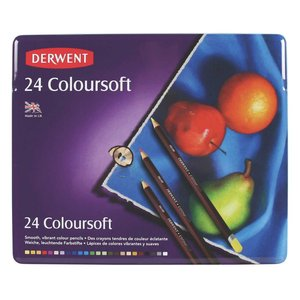 Derwent Colorsoft - 24 Pennor