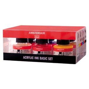 Akryltusch Amsterdam 30 ml - 6 färger