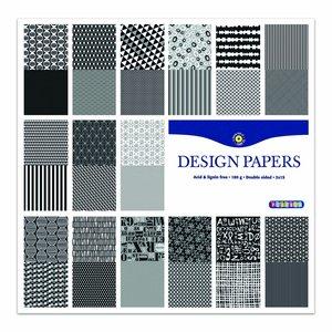 Designblock Svart och Vit - 24 sidor