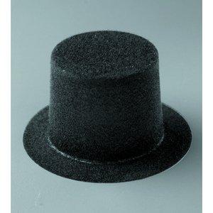 Hög hatt 65 x 43 mm - 20-pack - svart