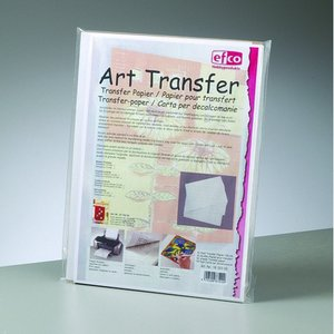 Transferpapper A4 - 50-pack - vit blank