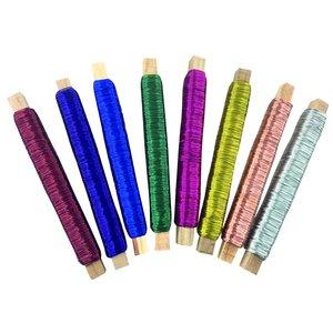 Metalltråd 8 färger - 0