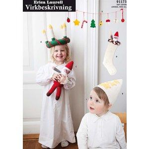 Stickmönster - I väntan på julen