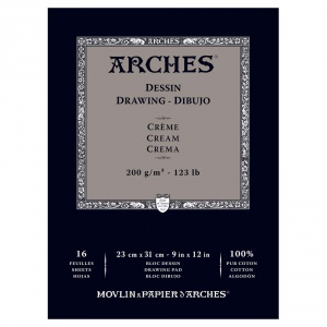 Ritpapper Arches 200g