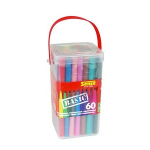 Fiberpennor Basic Sense - 60 pennor