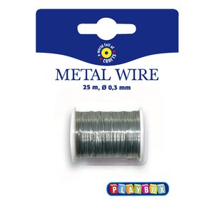 Metalltråd silver