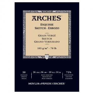 Skisspapper Arches 105g - 26x36 cm