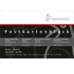 Ritblock Hahnemühle Sketch Vykort 190g - 10