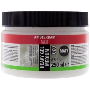 Amsterdam  akrylmedium - Heavy gel medium - Matt