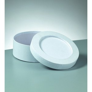 Ask mosaik 15 x 6 cm - vita rund