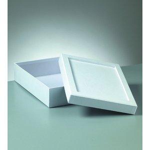 Ask mosaik 23 x 17 x 6 cm - vit rektangulär