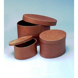 Askar set 15 - 20 cm - 3 delar ovala