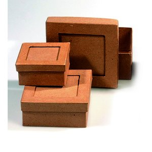 Askar set passepartout 9 - 14 cm - 3 delar kvadrat