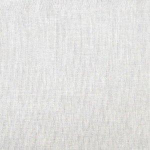 B1 Bomull Nässel 420cm utan söm Vit blekt
